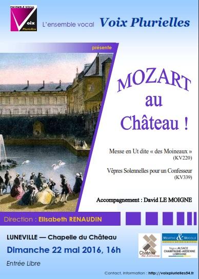 Mozart au château de Lunéville