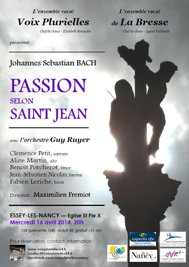 Bach, Passion selon St Jean