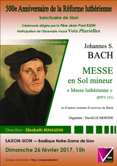 500 ans de la Réforme Luthérienne