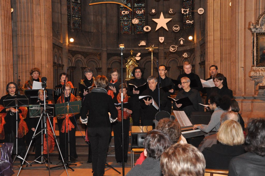 Concert du Nouvel An 2012 - L'ensemble Voix Plurielles