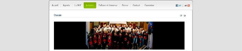 Chorale de la MJC de Laneuveville-devant-Nancy
