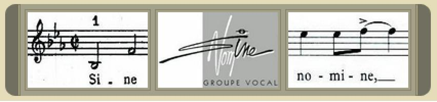 Groupe vocal Sine Nomine